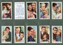 cigarette cards Film Partners 1935 Clark Gable & Joan Crawford